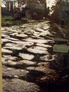 Une ancienne voie romaine